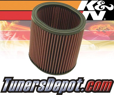 K&N® Drop in Air Filter Replacement - 83-90 Mitsubishi Starion 2.6L 4cyl