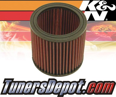 K&N® Drop in Air Filter Replacement - 88-88 Cadillac Cimarron 2.8L V6