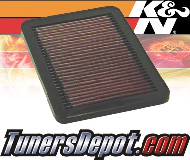 K&N® Drop in Air Filter Replacement - 88-88 Chevy Nova 1.6L 4cyl