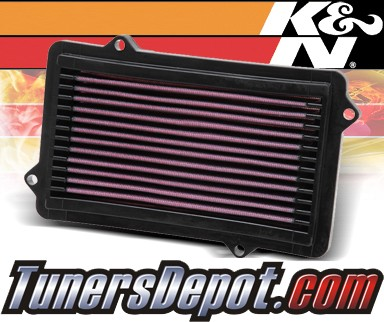 K&N® Drop in Air Filter Replacement - 88-89 Acura Integra 1.6L 4cyl