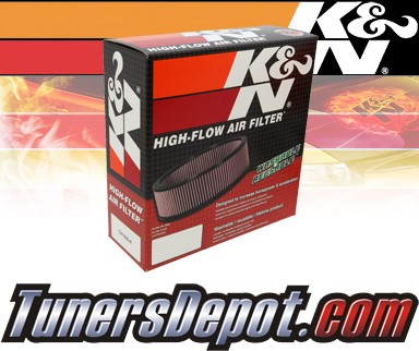 K&N® Drop in Air Filter Replacement - 88-89 Dodge Dakota 3.9L V6