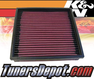 K&N® Drop in Air Filter Replacement - 88-89 Jaguar XJ6 3.6L L6
