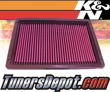 K&N® Drop in Air Filter Replacement - 88-90 Cadillac DeVille 4.5L V8