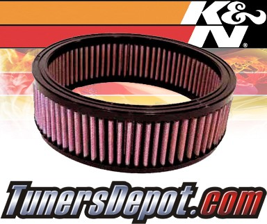 K&N® Drop in Air Filter Replacement - 88-90 Chevy Celebrity 2.5L 4cyl
