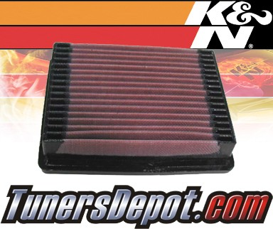 K&N® Drop in Air Filter Replacement - 88-91 Buick Reatta 3.8L V6