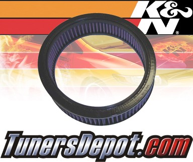 K&N® Drop in Air Filter Replacement - 88-91 Ford LTD 5.8L V8 CARB