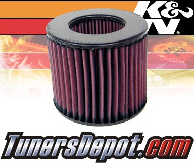 K&N® Drop in Air Filter Replacement - 88-91 Isuzu Trooper 2.8L L6 Diesel