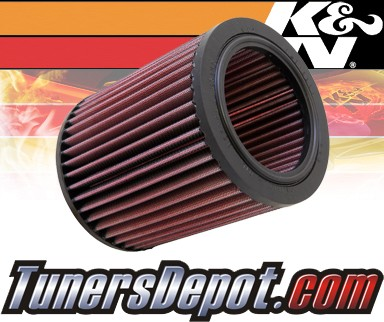 K&N® Drop in Air Filter Replacement - 88-91 Land Rover Range Rover I 3.9L V8