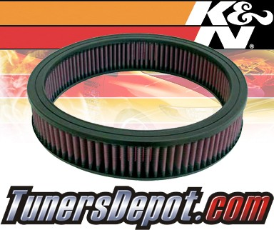 K&N® Drop in Air Filter Replacement - 88-92 Chevy Camaro 5.0L V8 TBI