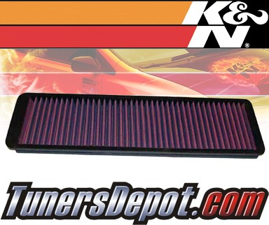 K&N® Drop in Air Filter Replacement - 88-92 Jaguar XJS 3.6L L6