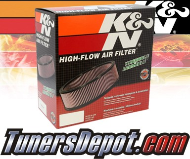 K&N® Drop in Air Filter Replacement - 88-93 Ford F350 F-350 7.3L V8 Diesel