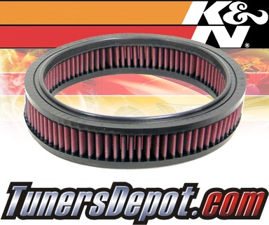 K&N® Drop in Air Filter Replacement - 88-93 Pontiac Le Mans 1.6L 4cyl