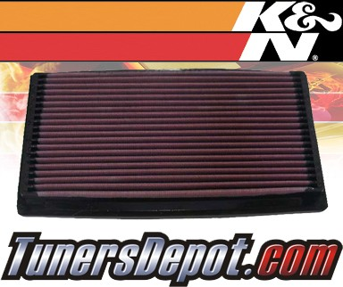 K&N® Drop in Air Filter Replacement - 88-94 Lincoln Continental 3.8L V6