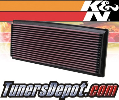 K&N® Drop in Air Filter Replacement - 88-96 Jeep Wrangler 2.5L 4cyl