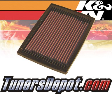 K&N® Drop in Air Filter Replacement - 89-89 Chevy Corsica 2.8L V6