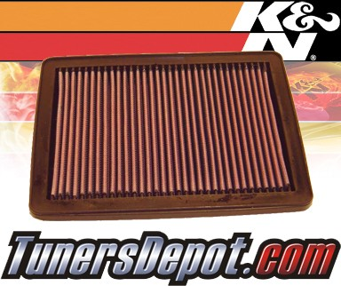 K&N® Drop in Air Filter Replacement - 89-89 Geo Tracker 1.6L 4cyl