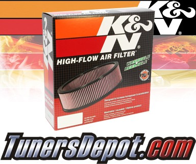 K&N® Drop in Air Filter Replacement - 89-90 Cadillac Brougham 5.0L V8 CARB