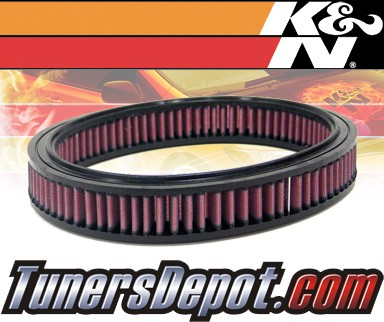 K&N® Drop in Air Filter Replacement - 89-90 Ford Escort Express 1.4L 4cyl CARB