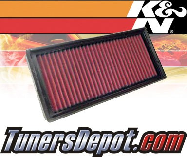 K&N® Drop in Air Filter Replacement - 89-90 Ford Escort Express 1.8L 4cyl Diesel