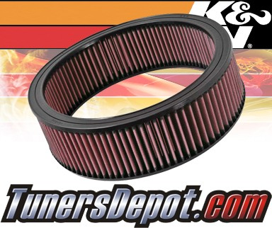 K&N® Drop in Air Filter Replacement - 89-91 Chevy Suburban V1500 5.7L V8