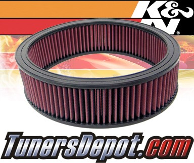 K&N® Drop in Air Filter Replacement - 89-91 Isuzu Trooper 2.8L V6