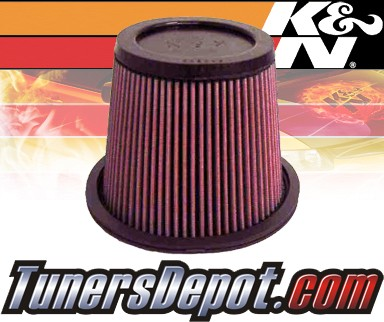 K&N® Drop in Air Filter Replacement - 89-92 Mitsubishi Mirage 1.6L 4cyl