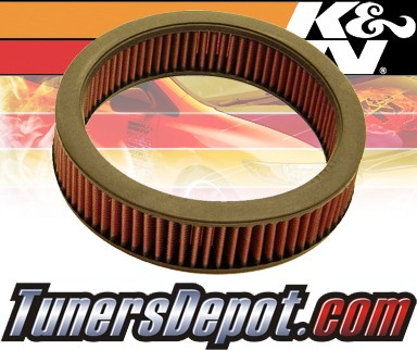 K&N® Drop in Air Filter Replacement - 89-93 Isuzu Amigo 2.3L 4cyl CARB