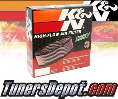 K&N® Drop in Air Filter Replacement - 89-94 Ford Escort Express 1.4L 4cyl