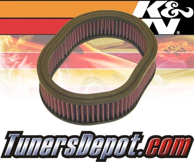K&N® Drop in Air Filter Replacement - 89-94 Plymouth Sundance 2.2L 4cyl