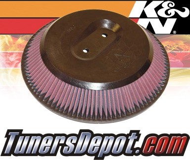 K&N® Drop in Air Filter Replacement - 90-04 Nissan Pickup 2.4L 4cyl