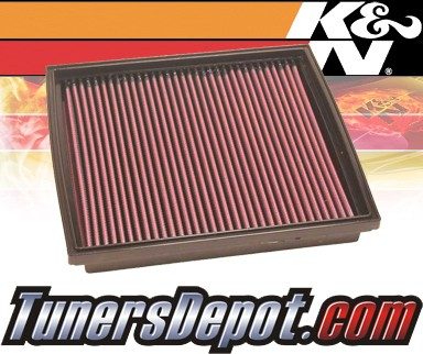 K&N® Drop in Air Filter Replacement - 90-90 Land Rover Range Rover 4.2L V8 - Petrol