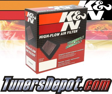 K&N® Drop in Air Filter Replacement - 90-92 Chevy Camaro 5.0L V8 TPI
