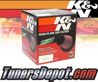 K&N® Drop in Air Filter Replacement - 90-92 Mitsubishi Lancer 1.8L 4cyl