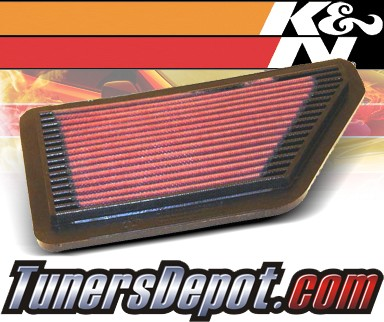 K&N® Drop in Air Filter Replacement - 90-93 Acura Integra 1.8L 4cyl