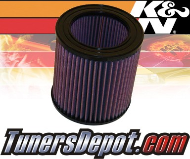 K&N® Drop in Air Filter Replacement - 90-93 Buick Regal 3.8L V6