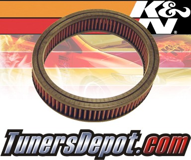 K&N® Drop in Air Filter Replacement - 90-93 Mazda B2200 2.2L 4cyl CARB