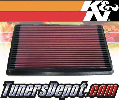 K&N® Drop in Air Filter Replacement - 90-93 Pontiac Grand Prix 3.1L V6
