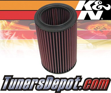 K&N® Drop in Air Filter Replacement - 90-93 Saab 900 2.0L 4cyl