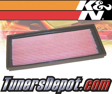 K&N® Drop in Air Filter Replacement - 90-93 Volvo 240 2.3L 4cyl