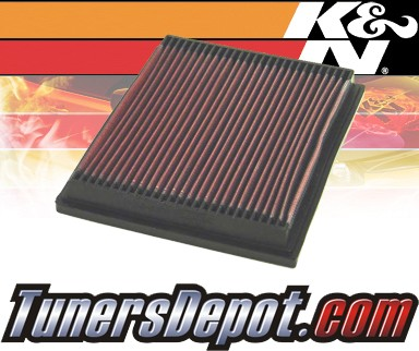 K&N® Drop in Air Filter Replacement - 90-94 Mazda B2200 2.2L 4cyl
