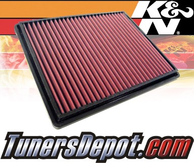 K&N® Drop in Air Filter Replacement - 90-95 Ferrari 348 3.4L V8