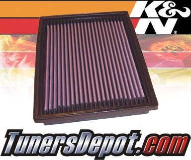 K&N® Drop in Air Filter Replacement - 91-00 Ford Escort Express 1.8L 4cyl Diesel