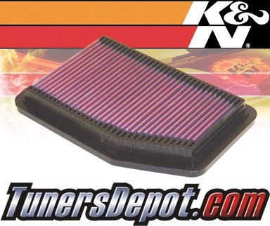 K&N® Drop in Air Filter Replacement - 91-00 Mazda MX-3 MX3 1.6L 4cyl