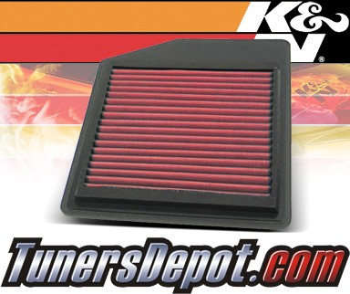 K&N® Drop in Air Filter Replacement - 91-05 Acura NSX 3.0L V6