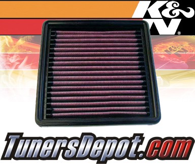 K&N® Drop in Air Filter Replacement - 91-92 Chevy Camaro 5.7L V8 TPI
