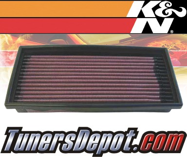 K&N® Drop in Air Filter Replacement - 91-92 Dodge Spirit 2.2L 4cyl