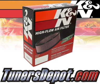 K&N® Drop in Air Filter Replacement - 91-92 Isuzu Rodeo 3.1L V6
