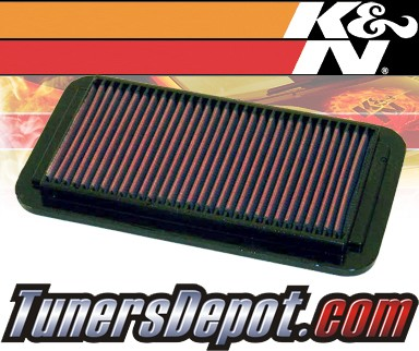 K&N® Drop in Air Filter Replacement - 91-92 Saturn S-Series SC DOHC 1.9L 4cyl