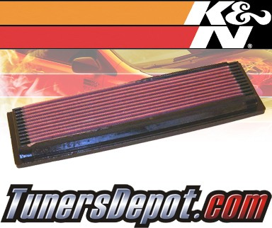 K&N® Drop in Air Filter Replacement - 91-93 Buick Roadmaster 5.0L V8