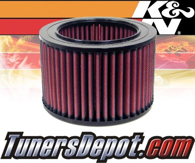 K&N® Drop in Air Filter Replacement - 91-93 Saab 900 2.1L 4cyl